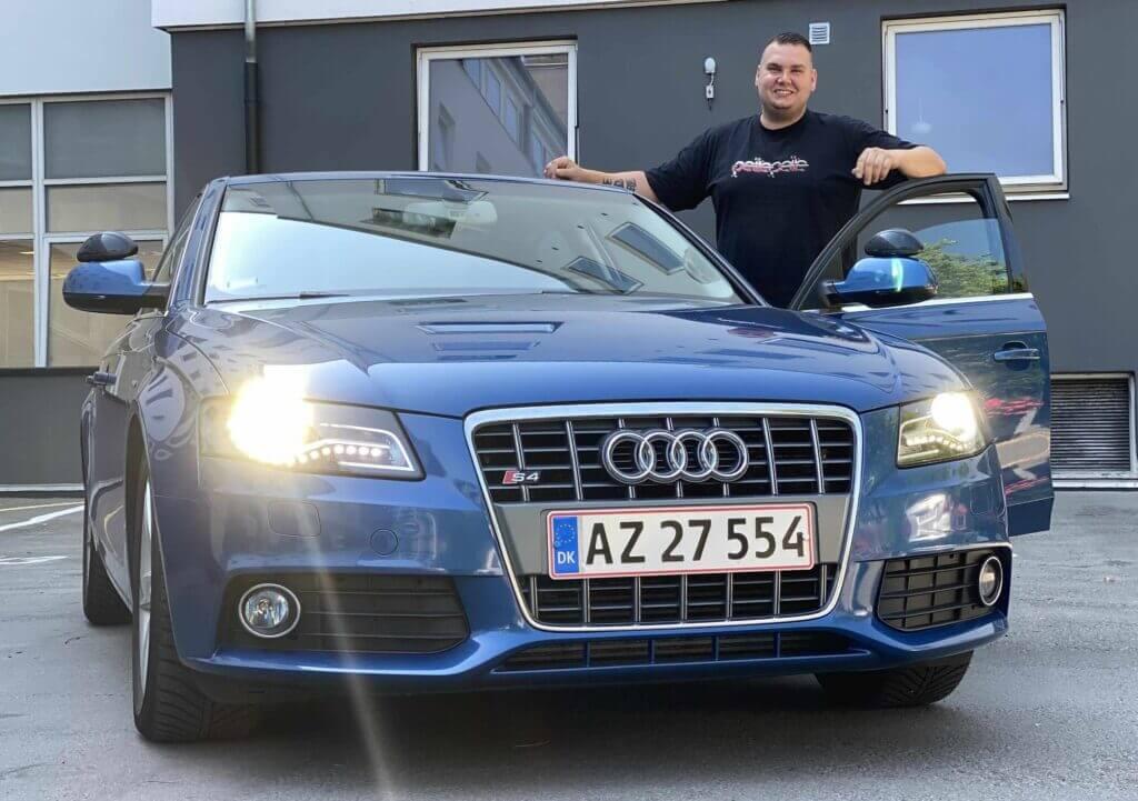 Kasper og Audi A4